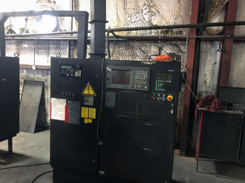 33-Ton Amada Vipros 367 Queen Turret Punch Press control