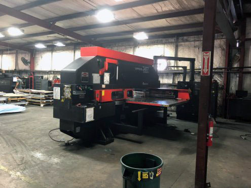 33-Ton Amada Vipros 367 Queen Turret Punch Press opang
