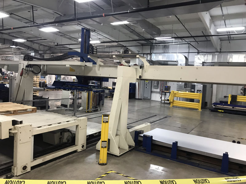 25-Ton Trumpf TruPunch 5000 Punching Machine rail