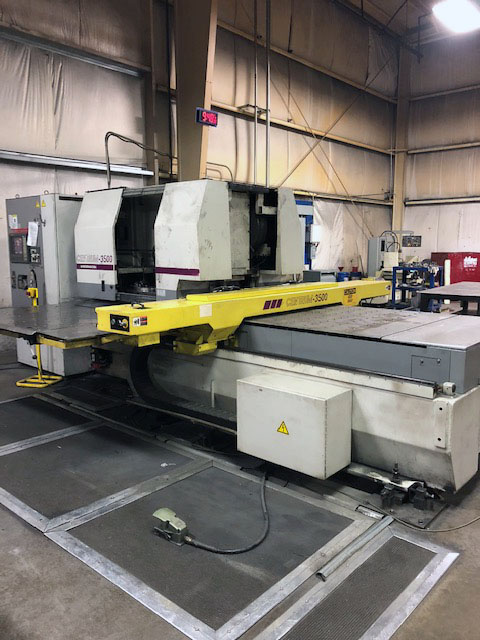 33 Ton Murata Wiedemann Centrum 3500 Turret Punch Press
