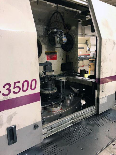 33-Ton Centrum 3500 Turret Punch Press turret